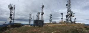 Communication Tower Mountain