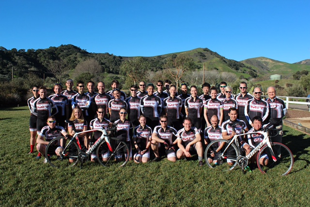 MIT Cycling Team Solvang Training Camp 2015